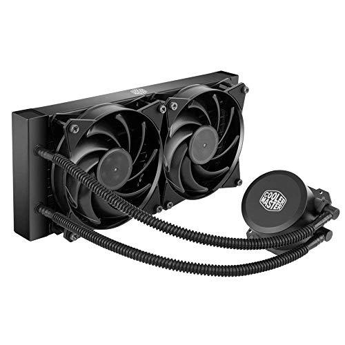 Cooler Master MasterLiquid Lite 120 - Unità di raffreddamento a liquido per CPU tutto in uno, con pompa a doppia camera, INTEL/AMD con supporto AM4 ML Lite 240