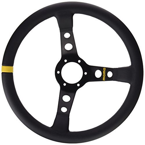 Momo 11111811312 Volante Steering Wheel 07.350 mm Lisa Black Skin