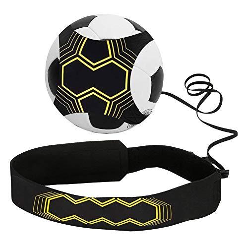 GOODGDN Cinturon de Futbol Football Trainer Banda Football Kick Trainer Banda elástica fútbol con Cuerdas Ajustables Cintura para Servir Entrenamiento de fútbol para Estudiante Niños Adultos