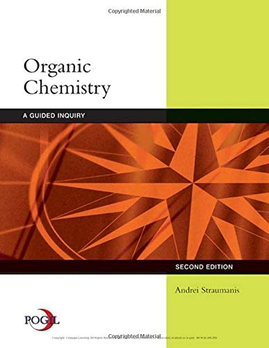 Organic Chemistry A Guided Inquiry product image
