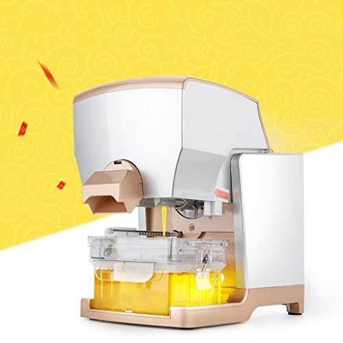 Intelligente Vollautomatische Öl Presse Home and Commercial Kleine Cold Press Hot Extrusion Ölpresse Ölpumpeneinheit One Touch Intelligent Control Mute High Power Motor Schnelldemontage / Montage