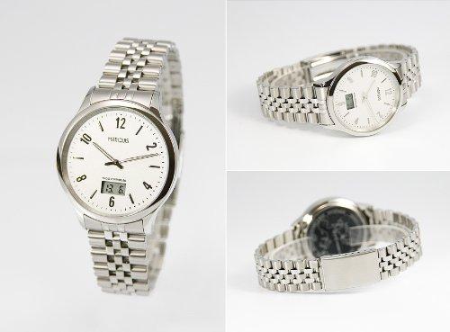 964.4712.78 Elegante Herren Funkarmbanduhr mit Junghans-Uhrwerk, Gehäuse & Armband aus Edelstahl