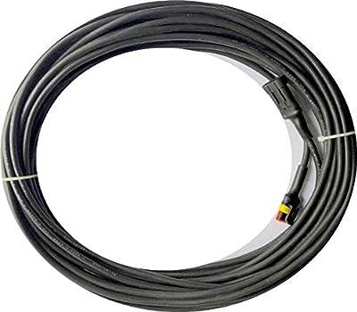 EcoBioEnergy Transformer Low Voltage Cable Wire for – Gardena SILENO Robotic Lawnmower R100LI R100LIC R130LI R130LIC R160LI – [only Suitable for 2016 2017 2018 Models] – (3 Meter [10 feet])