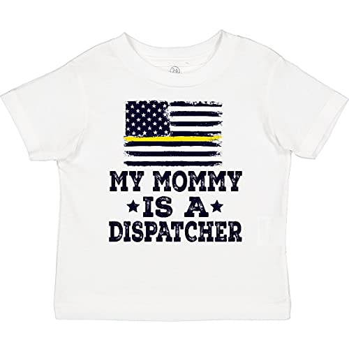inktastic Dispatcher Mom Emergency Toddler T-Shirt 3T White 34553