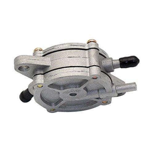 MERIGLARE Válvula de Bomba de Combustible de 1/8 Pulgadas, Grifo de Combustible Al Vacío para Ciclomotor, ATV, Go Kart