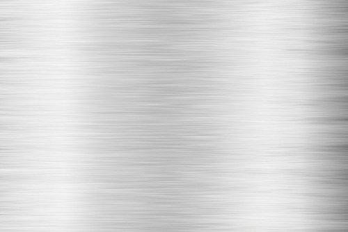 Premium Möbelfolie und Bastelfolie - Silber gebürstet - 1 Meter x 0.63m 32 Farben - verschiedene Größen - Küchenfolie - Klebefolie für Möbel, Türen selbstklebende Folie Küche, A4, A5 und Meterware