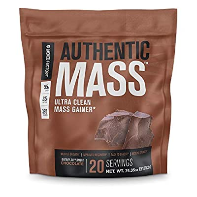 Authentic Mass Gainer - Clean Weight Gainer Protein Powder for Lean Muscle Growth