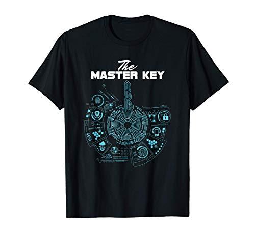 Lockpick Lock-Picker Lockpicking Schlosser Der Master Key T-Shirt