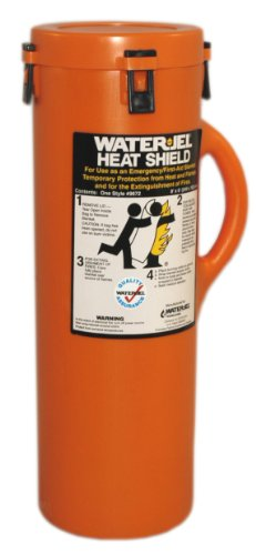 First Aid Only 9672-1 Water Jel Heat Shield Fire Extinguishing Blanket, 96 Length x 72 Width