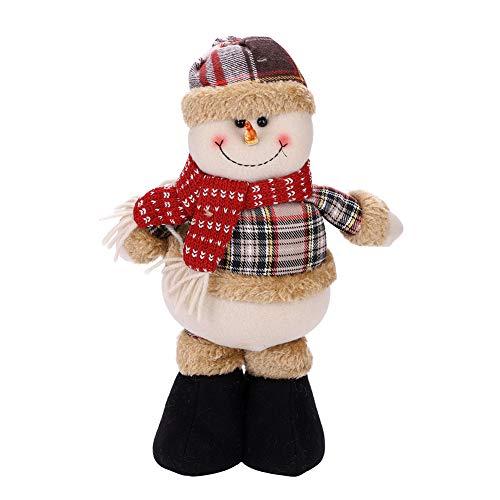 Objetos Adornos Navidad Juguete Papá Noel Muñeco Nieve Reno niños Navidad Déco Navidad Oficina casa Árbol de Navidad