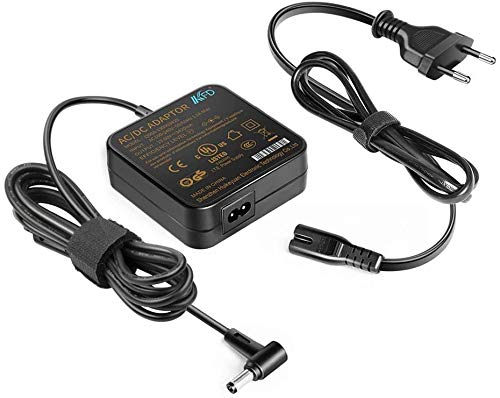 KFD - Cargador para Asus VivoBook 14 15 17 A705qa F705ua F751l F751ma R556l R558u R752l R753u F751n F751s F75a R513c UL80vt X401 X501. X51l X555 X555l X73b X73e 5,5 x 2,5 mm.