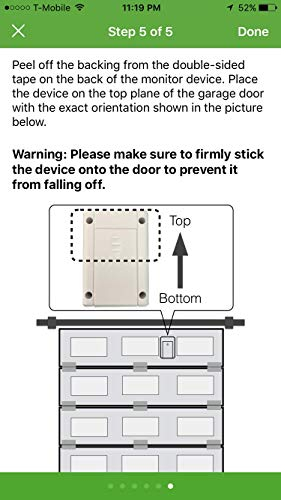 GarageDoorBuddy Monitor - Monitor Your Garage Doors from Anywhere (Not for controlling the garage...