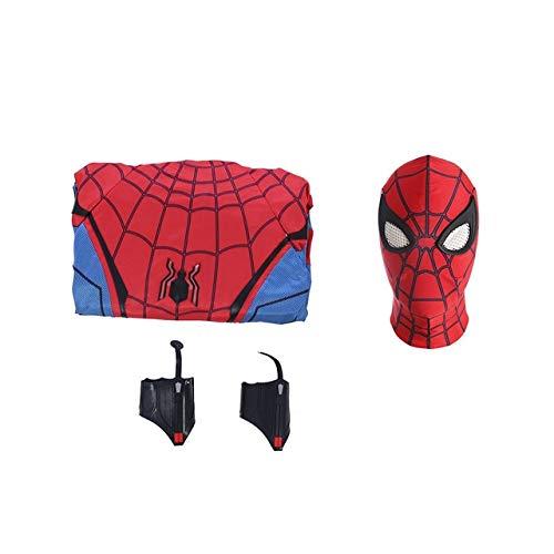 EQWR Hohe qualität luxus Avengers 3 Spiderman Heimkehr Cosplay Kostüm Eisen Spider Man Superheld Body Overalls XL 2-WEIBLICH