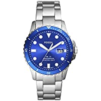Fossil Men's FB-01 Three-Hand Date Stainless Steel Casual Quartz Watch