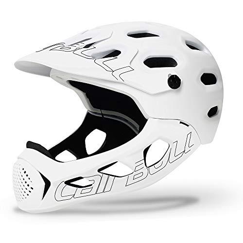 DishyKooker ALLCROSS Mountain Cross-Country Bicicleta Casco Integral Casco de Seguridad para Deportes...