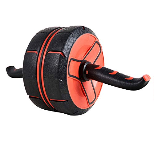 Alysays Kernbauchbauch-Trainer AB-Radroller für Heim-Fitnessstudio, stummes und rutschfestes, Bauchrad, automatisches Rebound, 150kg lasthaltig, Unise