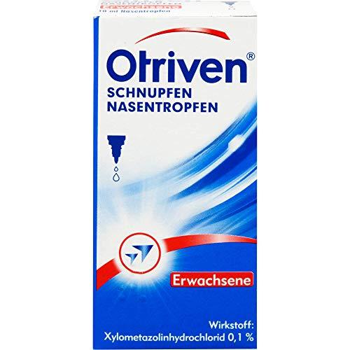 Otriven 0,1% Nasentropfen für Erwachsene bei Schnupfen, 10 ml Lösung