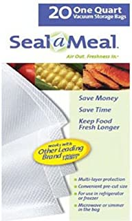 Seal-A-Meal quart size bags (20-pack)