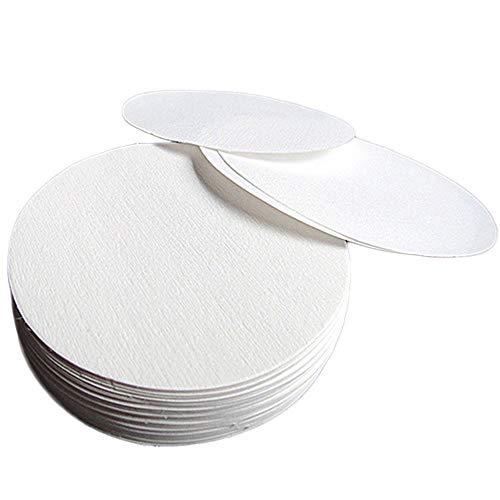 Papel De Filtro Cualitativo De Laboratorio,Papel De Filtro Cualitativo Circular,Papel De Filtro Cualitativo Papel De filtro Premium De Flujo Medio 11 Cm (Blanco) 100 Piezas