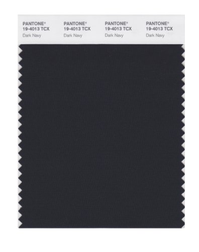 PANTONE Smart 19-4013X Color Swatch Card, Dark Navy