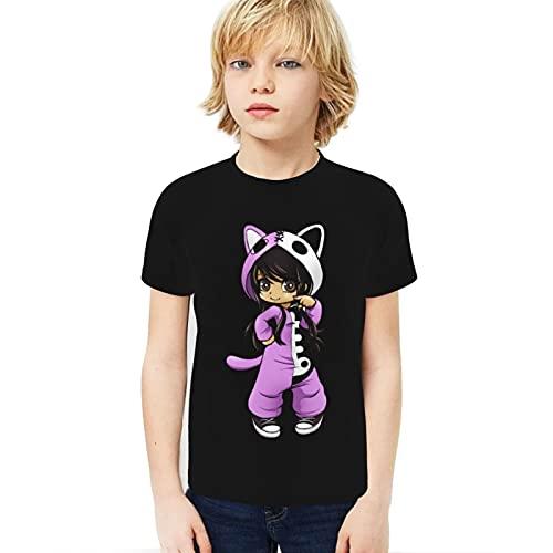 Jungen Boys Ap-h-m-au Short Sleeve Crew Neck T-Shirt für Jungen