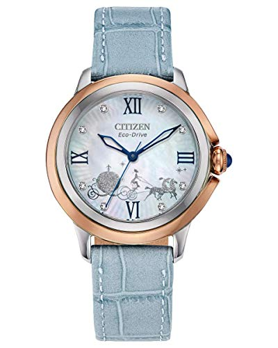 Citizen Eco-Drive Disney Quartz Womens Watch, Stainless Steel with...
