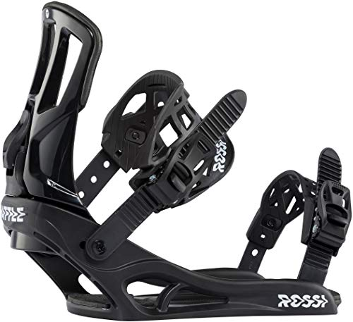 Rossignol Battle Snowboard Bindings Mens Sz M/L (9-11.5) Black/White