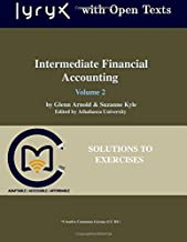 Intermediate Financial Accounting: Volume 2 Solutions to Exercises