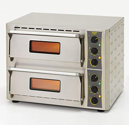PEGANE Four à 2 étages pour Pizza Compact 2x3 KW / 230 V