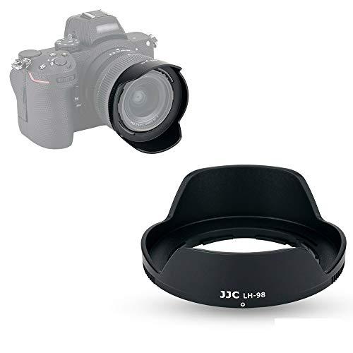 JJC Parasol para objetivo Nikon NIKKOR Z 24-50mm f/4-6.3 en Nikon Z5 Z50 Z6 II Z7 Z7 II DSLR Cámara – Reemplaza Nikon HB-98 Lente Hood Cámara DSLR Fotografía
