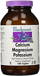Bluebonnet Nutrition, Calcium Magnesium Potassium, 180 Caplets by Bluebonnet Nutrition