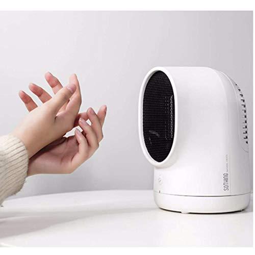 Elektrische Heizung PTC und ABS Mini Hei?luft-Rotationsheizung Luftventilator L¨¹ftung Ventilator Elektrische Heizung Unabh?ngige Heizung