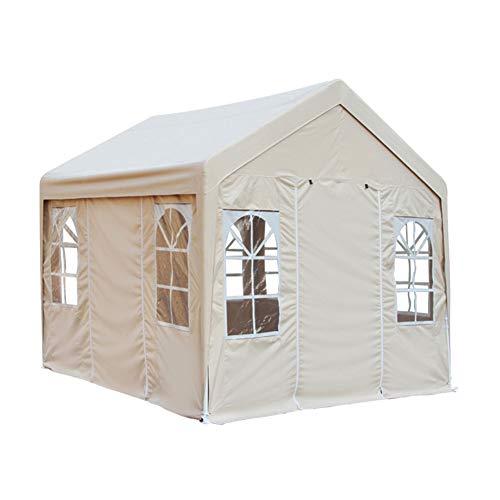 ZZWL Awning 4 voet grote paraplu outdoor kraam bruiloft luifel kamer opvouwen regendichte zonnebrandcrème outdoor reclame tent