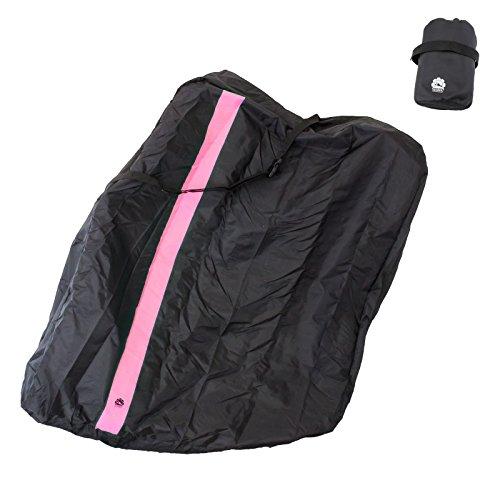 GORIX ゴリックス 輪行袋 縦タイプ 自転車 輪行バッグ (収納ポーチ付き) (Ca4)(ピンク)