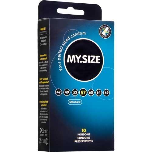 Mijn Grootte Condooms 57mm x10 Grote Grotere Condooms (Duitse Engineering op zijn best) door My Size