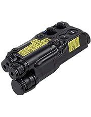 HAOYK Tactical Dummy PEQ-16 Caja de batería para Airsoft Display Rail Montado