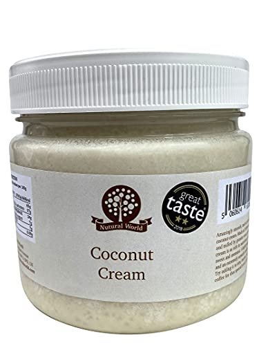 Nutural World - Crème de Noix de Coco (1kg) - Vainqueur des Great Taste Awards