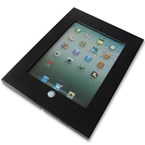 DRALL INSTRUMENTS Porta tabletas de Metal Negro Adecuado para iPad 2ª, 3ª, 4ª generación, Aire, aire2 Montaje en Pared VESA 100 Modelo: IS3B
