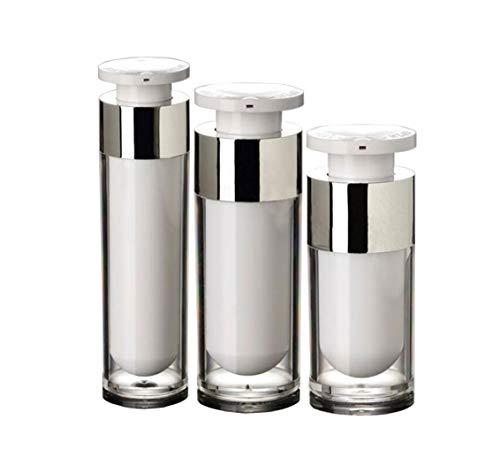 2 STÜCKE Acryl Airless Vakuumpumpe Creme Lotion Fläschchen Flasche Gläser Bajonett Augencreme Toner Kosmetik Körperpflege Make-Up Foundation Dispenser (50ml/1.7oz)