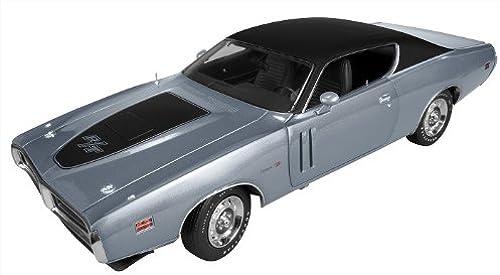 1971 Dodge Charger R T Hemi (GA4) Gunmetal grau 1 18 by Autoworld AMM974