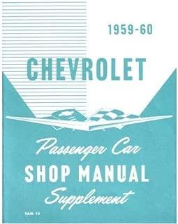 1959 1960 Chevrolet Bel Aire Impala Shop Service Repair Manual Book Engine OEM