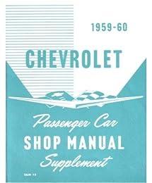 1959 1960 Chevrolet Bel Air Impala Shop Service Repair Manual Book Engine OEM