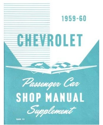 1959 1960 Chevrolet Bel Aire Impala Shop Service Repair Manual Book Engine OEM