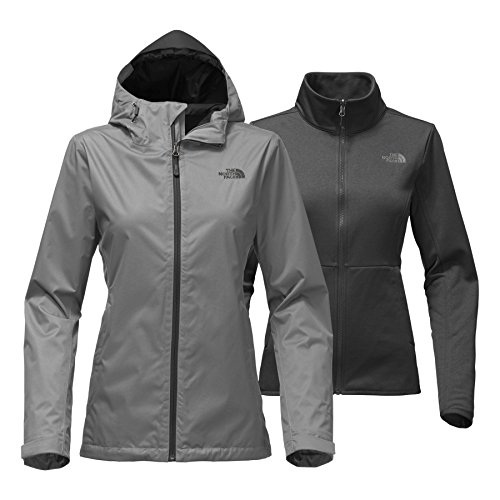 The North Face Women's Arrowood Triclimate Jacket - Mid Grey Dobby - XXL