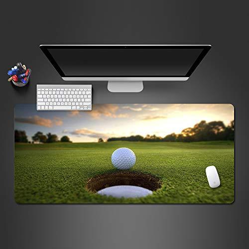HonGHUAHUI levenskwaliteit golfbal muismat computer toetsenbord muismat spel speler antislip gamepad creatieve computermatten 700 x 300 x 2 mm.