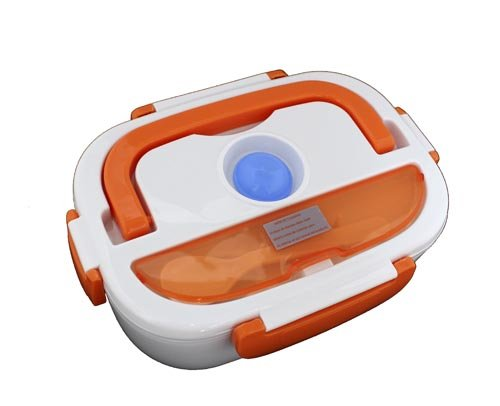 Elektrische Frischhaltebox TH-ELB105, 1.05 l, orange, mit Tupperdose