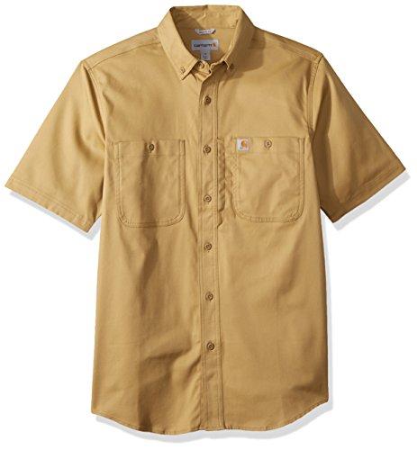 Carhartt Herren Rugged Professional Short-Sleeve Work T-Shirt, Dark Khaki, L