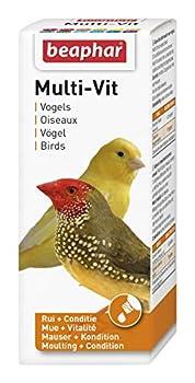 Beaphar - Multi-vit, vitamines - oiseau - 50 ml