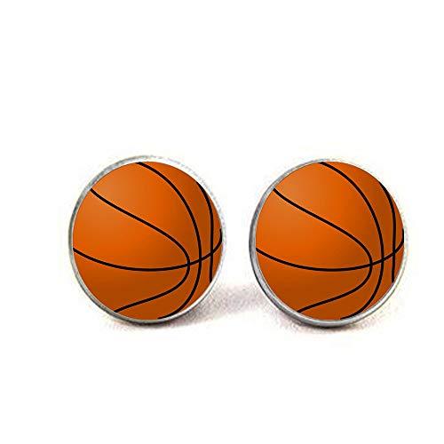bab Ohrringe, Basketball, Baseball, Fußball, Foto, 1 Stück