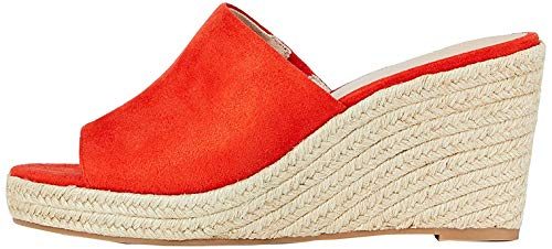 Amazon-Marke: find. #_JUDD-S-1A-1 Espadrilles, Rotes Mandarina-Rot, UK-Größe 5